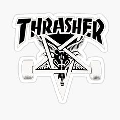 Sailor Jerry Flash, Thrasher Skate, Skateboard Logo, Surf Logo, Dragon Tattoo Back Piece, Sailor Tattoos, Thrasher Magazine, Japanese Dragon Tattoos, Stickers