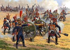 Napoleonic period french artillery - Google Search
