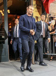 David Beckham is seen in New York City.