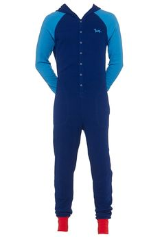 Mens Penny Hooded Onesie | Peter Alexander