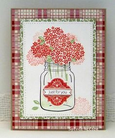 Perfectly preserved mason jar with flowers!!