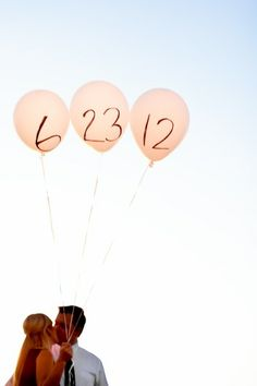 Save the date photo idea