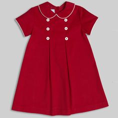 Love this little red dress!