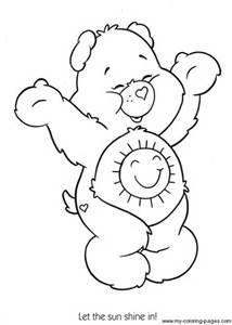 48 Best Care Bears Coloring Pages Images Care Bears Coloring
