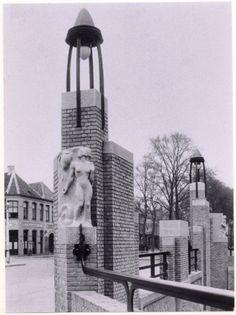 Haagpoortbrug, 1928 - 1966, Breda. Russen de Nieuwe Haagdijk en Haagweg. Argusvlinder   De avonturen van de Argusvlinder