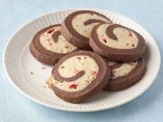 Alton's Chocolate Peppermint Pinwheel Cookies