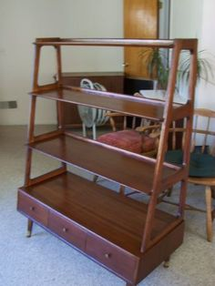 vintage danish modern book trough - Yahoo Image Search Results