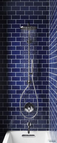 HydroRail™ Handshower Column See more showers.