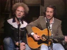 "On in Paul Simon reunites with former partner Art Garfunkel on tonight's second-ever episode of Saturday Night Live, performing ""Scarborough Fair,"" ""The Boxer,"" and their new single, ""My Little Town. Songs To Sing, Hit Songs, Simon Garfunkel, Paul Simon, Easy Listening, Music Mix, Saturday Night Live, Popular Music, Motown"