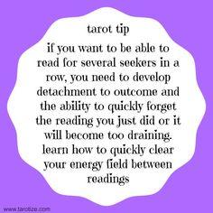 Tarot Tips - Ground Between Readings