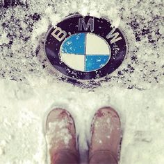 Even the toughest weather can't keep you from the perfect Valentine's date. BMW