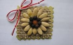 Imagini pentru martisoare confectionate de copii Straw Bag, Seeds, Diy, Bricolage, Do It Yourself, Homemade, Diys, Crafting