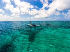 Practice your #yoga out on a paddle-board on the #CaribbeanSea!