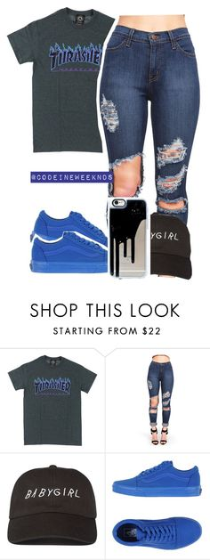 """8/17/16"" by codeineweeknds ❤ liked on Polyvore featuring Vans"