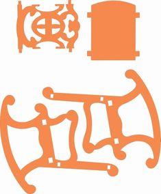20 Doll Furniture Plans Woodworking 2019 - Mug G Scroll Saw Patterns Free, Scroll Pattern, Cross Patterns, Wood Patterns, Pattern Art, Miniature Furniture, Doll Furniture, Dollhouse Furniture, Furniture Plans