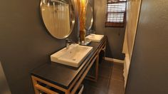 TURN AN EXPOSED SINK INTO A VANITY WITH LOTS OF STORAGE USING IKEA PARTS