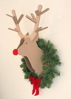 Whoa! creatively christy: DIY Cardboard Reindeer