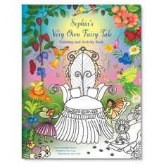 My Very Own Fairy Tale Coloring and Activity Book     #hoidaygiftguide  #stockingstuffer