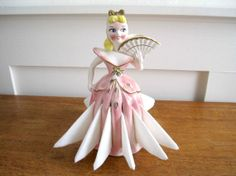 Doll Ceramic Napkin Holder