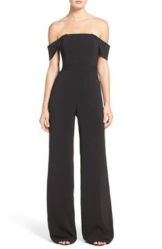 Jay Godfrey Jay Godfrey Brin Off the Shoulder Jumpsuit available at #Nordstrom