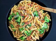 Pasta Romano with Chicken Sausage and Broccoli