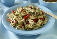 As the temperature rises, this cold noodle salad makes a perfect summer lunch. Plus, it's only 149 calories!