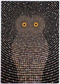 Night Music for Raptors by Fred Tomaselli.