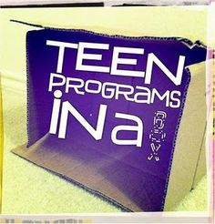 Teen Librarian Toolbox - great blog and FB page for programs, printables, and other ideas for the teen librarian.