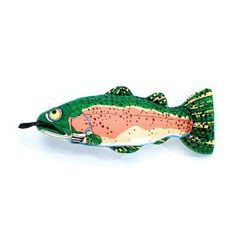 Fat Cat Yankers Trout Dog Toy