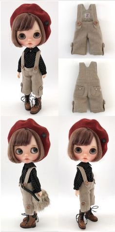 ** Blythe outfit ** Lucalily 583**_画像