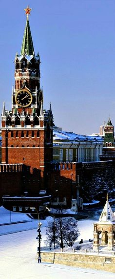 Moscow Kremlin - Spasskaya clock tower
