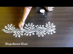 free hand border rangoli designs without dots Rangoli Side Designs, Simple Rangoli Border Designs, Rangoli Designs Latest, Boarder Designs, Rangoli Borders, Free Hand Rangoli Design, Small Rangoli Design, Rangoli Ideas, Rangoli Designs Diwali