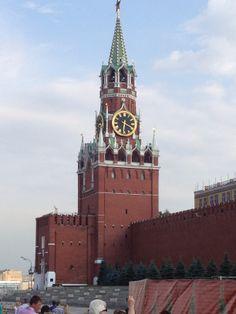 The Kremlin! Russia!