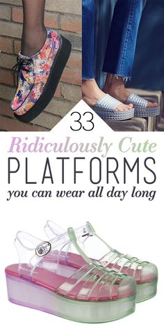 33 Cute Platform Shoes You ll Actually Want To Wear f11f7e2bd7
