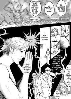 "a page from ""The deep needs train"" a short manga by Elena Vitagliano, winner of the Manga Jiman competition (Uk)    http://cargocollective.com/elenavitagliano/Comics"