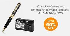 Spy Pen Camera, Surveillance Equipment, Hd Video, Supreme, Phone, Telephone, Hd Movies, Mobile Phones