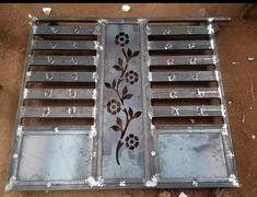 Gate Wall Design, Grill Gate Design, Front Gate Design, Main Gate Design, Door Design, Staircase Metal, Iron Fence Gate, Engineering Works, Balcony Railing Design