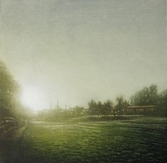 Anja Percival is a printmaker who is fascinated by the different atmosphere that light creates in our environment. Modern Art, Contemporary Art, Hope Art, Sun Light, Durham, Online Art, Original Art, Art Gallery, Country Roads