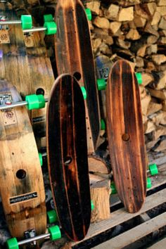 Handmade skateboards from wine barrels : The Barrel Board Experience Project #Skateboards, #WineBarrel