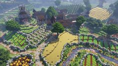 - Minecraft World Minecraft Medieval Village, Minecraft Farm, Cute Minecraft Houses, Minecraft Castle, Minecraft Plans, Amazing Minecraft, Minecraft Construction, Minecraft Survival, Minecraft Tutorial
