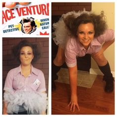 My Halloween costume this year: ace Ventura. Pet detective!