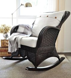 Beautiful rocking chair idea :)