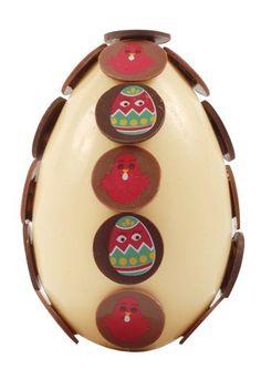 Ethnic egg by Virginie Duroc-Danner