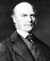 Photograph of Sir Francis Galton. Courtesy of the American Philosophical Society.
