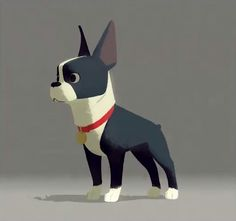 """""""Winston,"""" from Disney Short, """"Feast . . . """"   https://d23.com/feast-your-eyes-on-winston-the-dog/"""