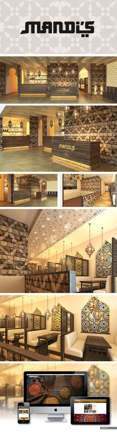 MANDI'S - Yemeni Restaurant #conceptdesign #restaurant #brandidentity #franchising #interiordesign #architecture made by DESITA www.desita.it