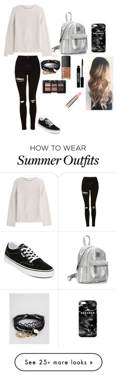"""Summer Outfits : """"Style: outfit go to school"""" by minhh-chauu on Polyvore featuring Helm"""