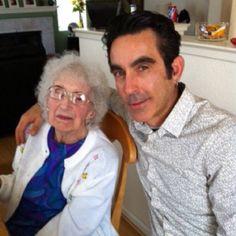 My Grandma Corona (age 98) and I 2011.