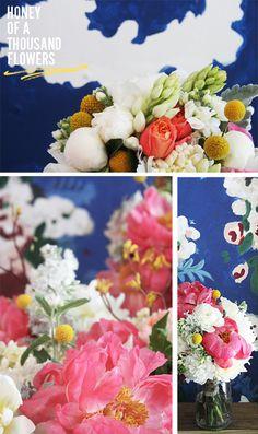 Lovely flowers, vibrant colors.