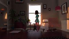 Living Room Studio by MikeRedman Color Script, Color Test, Female Character Design, Environment Concept Art, Environmental Design, Visual Development, Illustrations, Illustration Art, Architecture